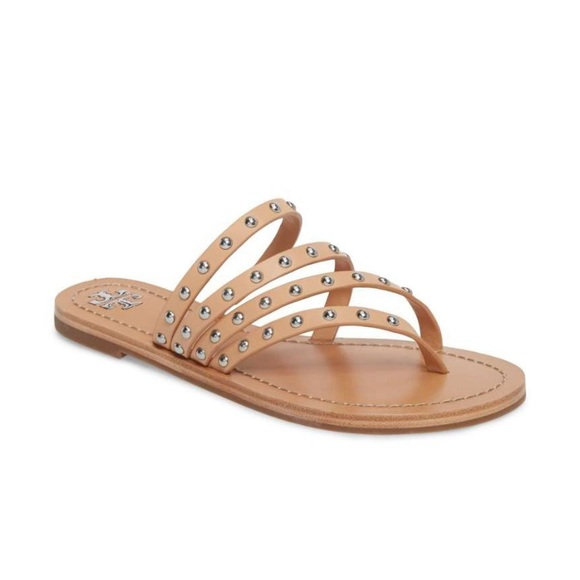 cf6f5be7c38 Tory Burch Patos Studded Thong Sandals